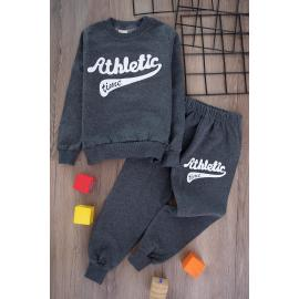 Boys' Thick Sporty Set - dark selver2