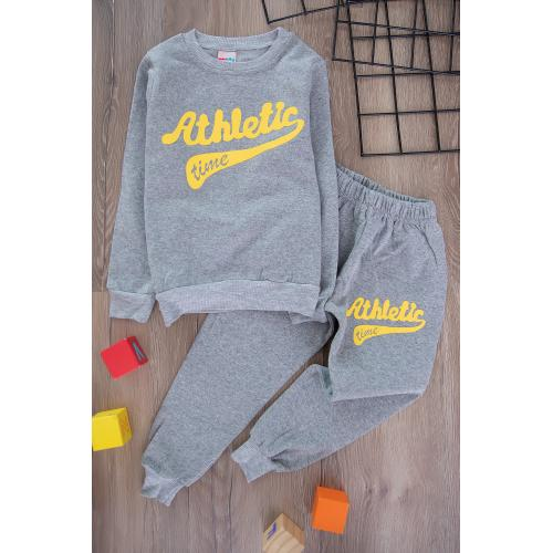 Boys' Thick Sporty Set -selver