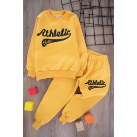 Boys' Thick Sporty Set -yellow2