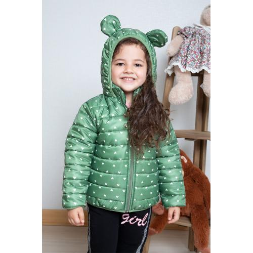 Girl's Coat - green