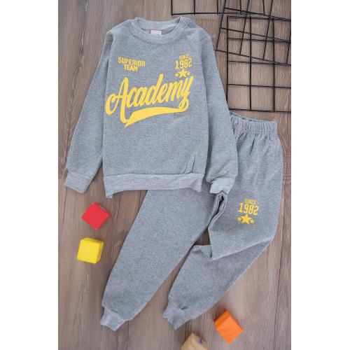 Boys' Thick Sporty Set -selver2