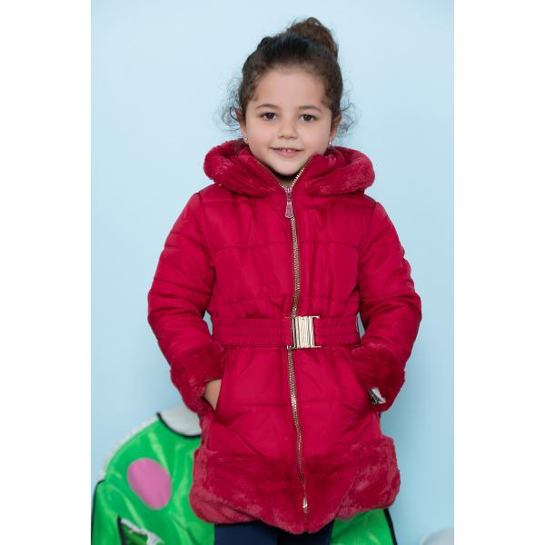 Girl's Coat - Maroon
