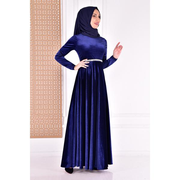 Dress - dark blue.