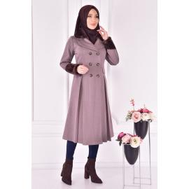 Coat - mink color