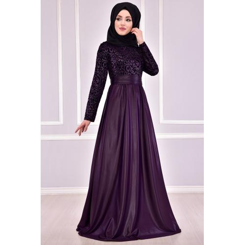 Evening dress {princess style} Burgundy color