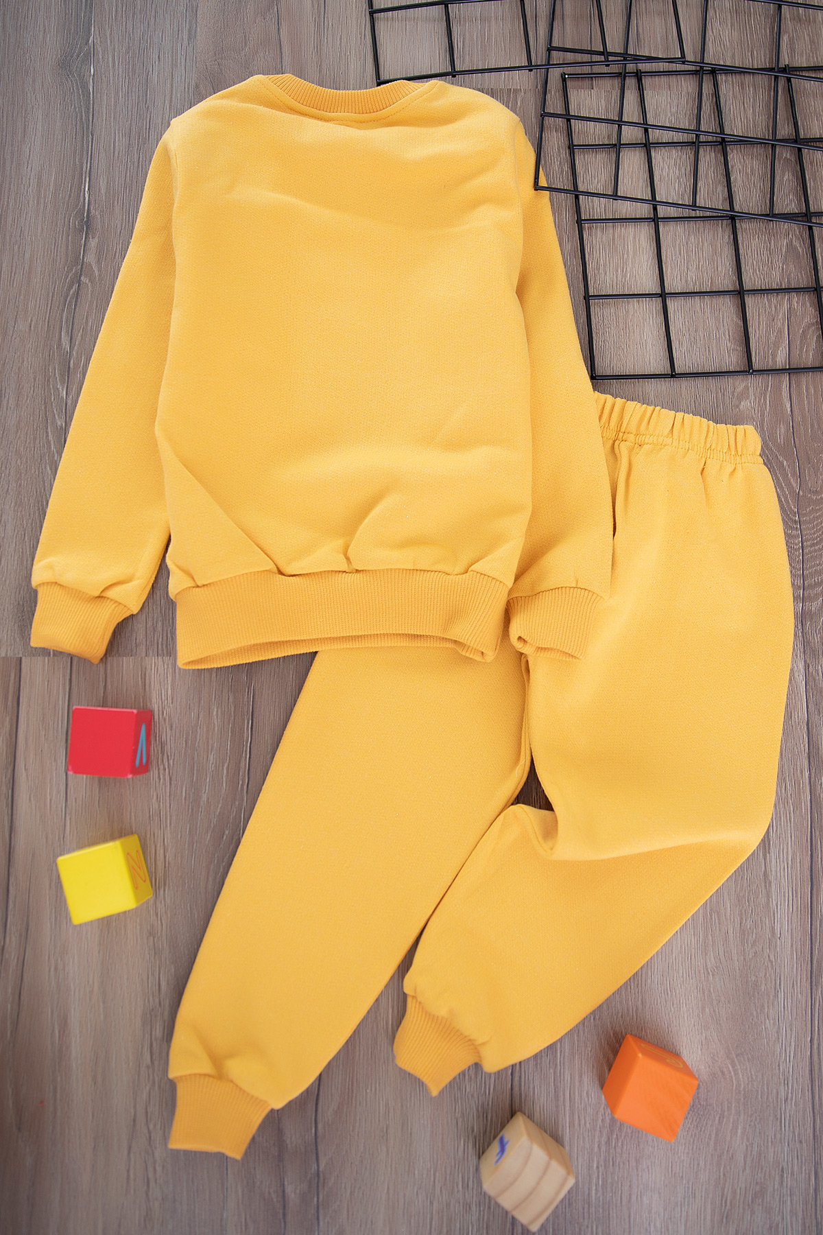 Boys' Thick Sporty Set -yellow