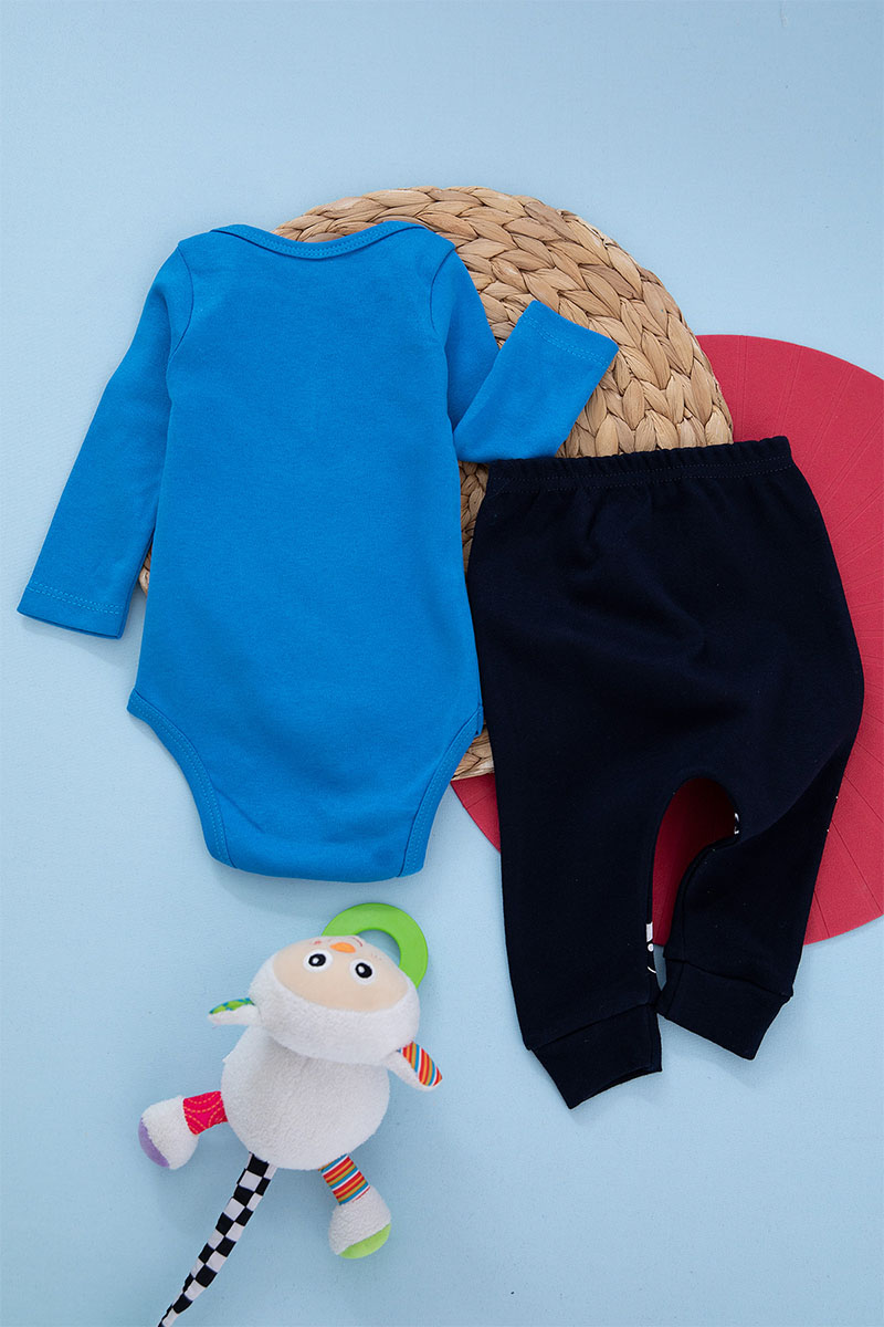 Baby boy model set and two pieces Kharouf age of six months to a year