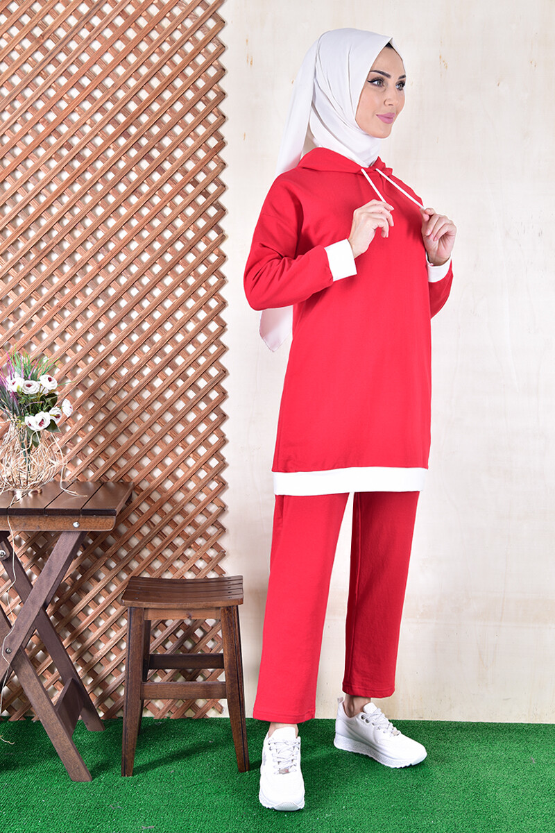 set with cape - red